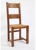 Chaise 2 barres épi