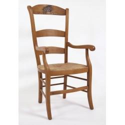 fauteuil-louis-philippe-haut-dossier-sanglier-sculpte