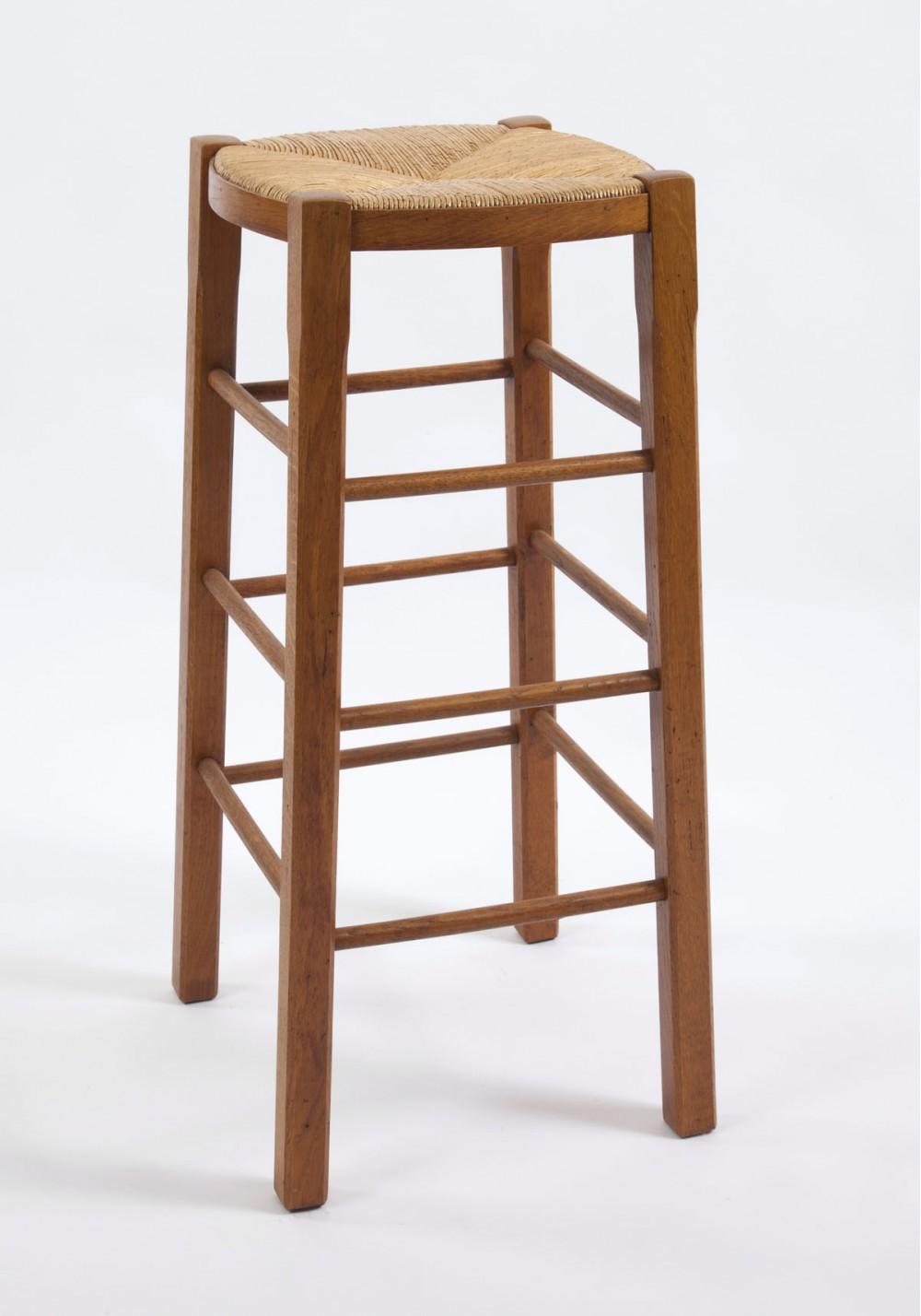 Tabouret de bar sans dossier la chaise artisanale - Tabouret de bar sans dossier ...
