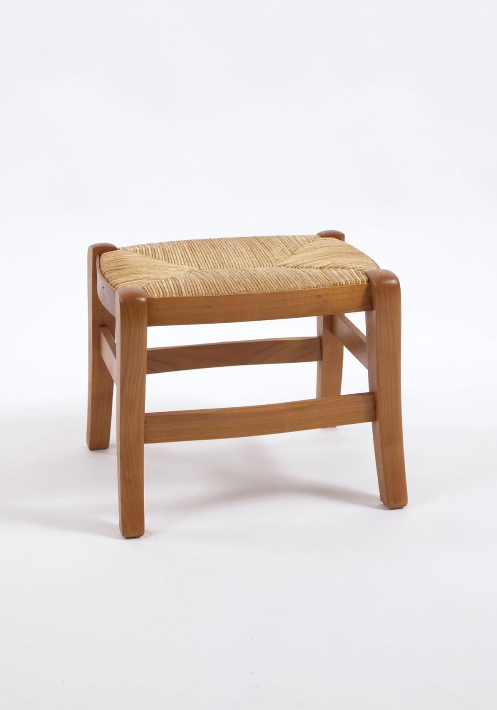 banc de pied louis philippe en ch ne merisier ou noyer la chaise artisanale. Black Bedroom Furniture Sets. Home Design Ideas