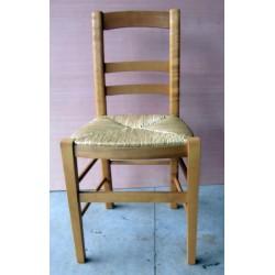 Chaise numéro 7 pro barres droites