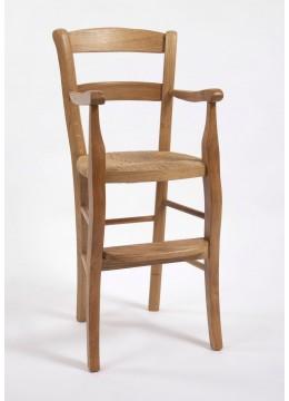 Fauteuil haut de table Louis-Philippe
