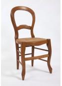 Chaise de salle demi-lune dossier violon