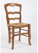 Chaise rustique non sculptée
